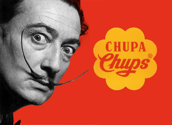 Chupa Chups Salvador Dalì
